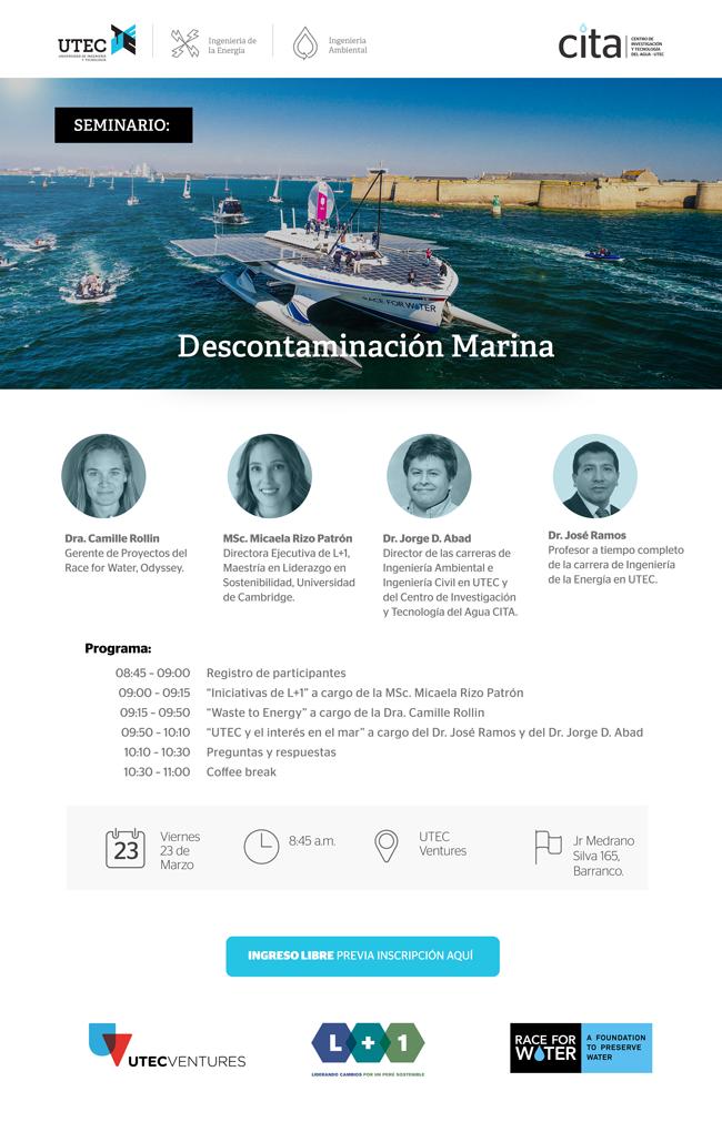 Seminario: «Descontaminación Marina»