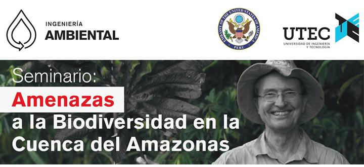 Seminario: «Amenazas a la biodiversidad en la cuenca del Amazonas»