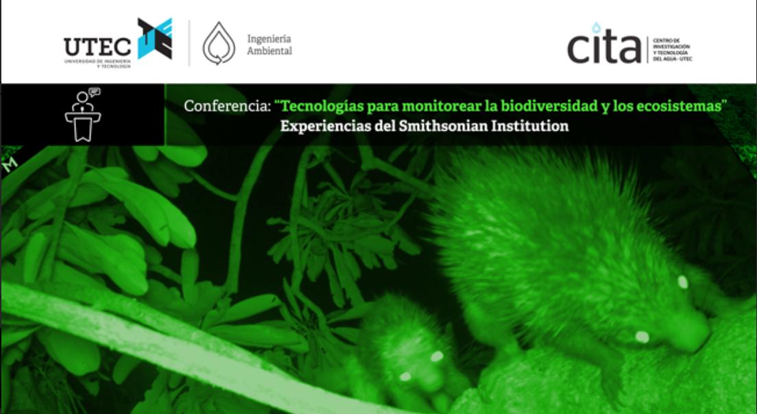 Conferencia: «Tecnologías para monitorear la biodiversidad y los ecosistemas»
