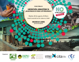 Foro: «Hidrovía Amazónica, ¿buen negocio para los peruanos?»