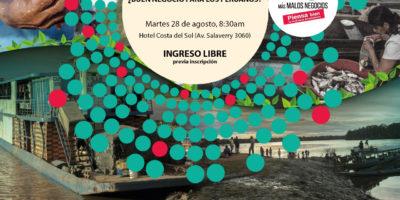 """Foro: """"Hidrovía Amazónica, ¿buen negocio para los peruanos?"""""""