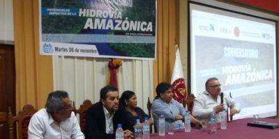 El CITA y el CIP Loreto comparten estudios sobre Hidrovía Amazónica