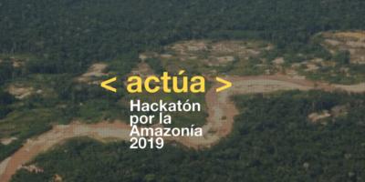 (Español) ¡Participa! UTEC y SPDA lanzan la tercera Hackatón por la Amazonía