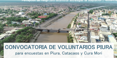 Convocatoria de voluntarios ePiura