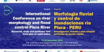 [Conferencia Internacional] Morfología fluvial y Control de inundaciones río Piura-Perú