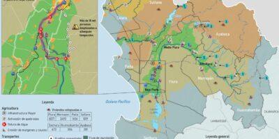 El Niño Costero 2017 – Piura: Mapa de daños en infraestructura