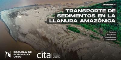 [Webinar] Transportes de sedimentos en la llanura amazónica